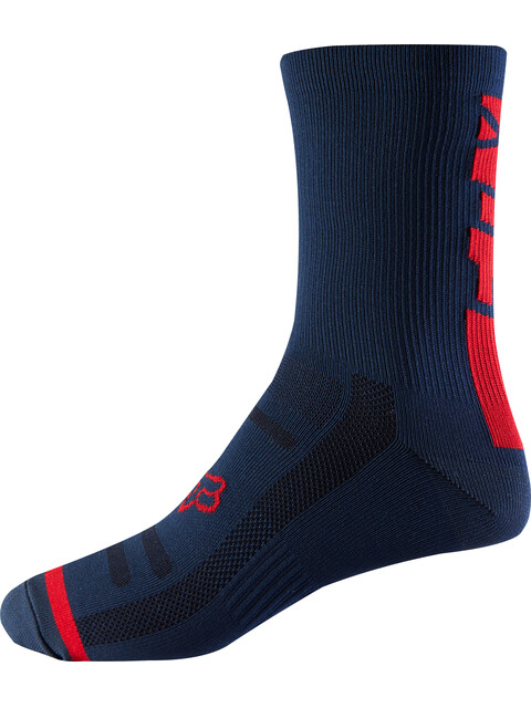 "Fox 8"" Trail Socks Men light indigo"